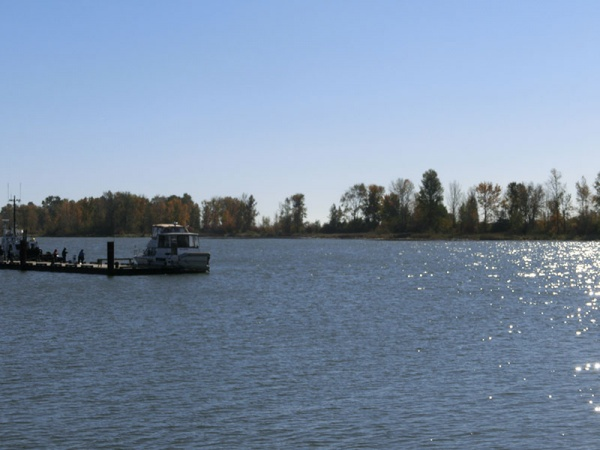 フレーバークリーク・フレーザー河